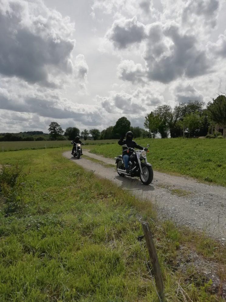Motards - randonnée moto